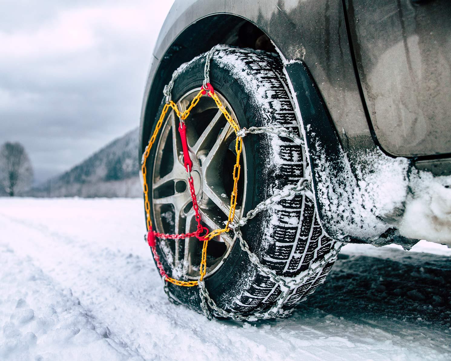 chaîne neige voiture